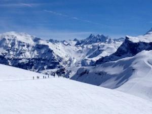 Les Cascades 14km blue piste